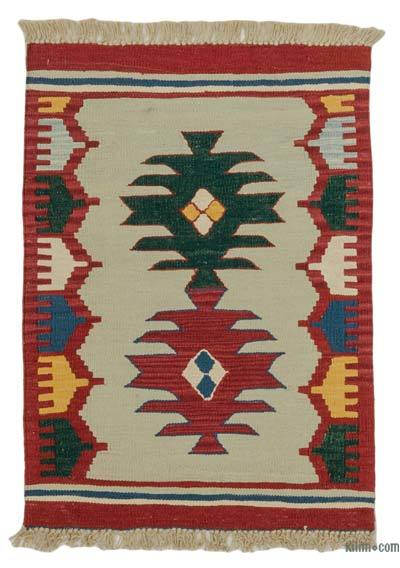 "New Handwoven Turkish Kilim Rug - 2'2"" x 3' (26 in. x 36 in.)"