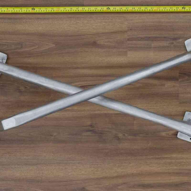 Döküm Aluminyum Masa Ayağı - K0034003
