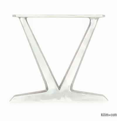 Aluminium Sand Cast Coffee Table Leg (set of 2)