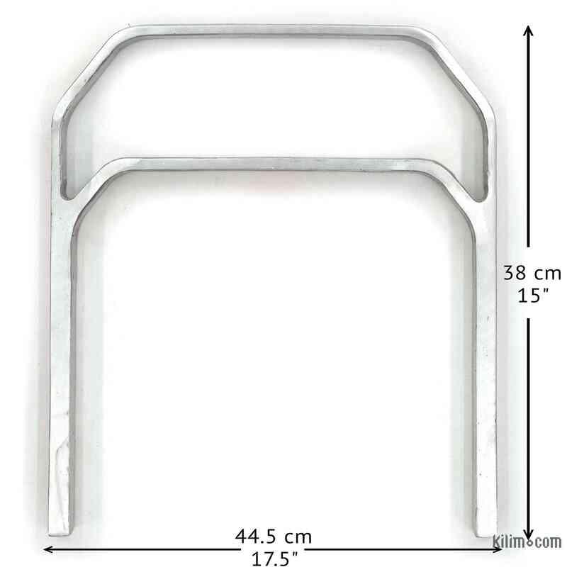 Döküm Aluminyum Sehpa Ayağı - K0034009