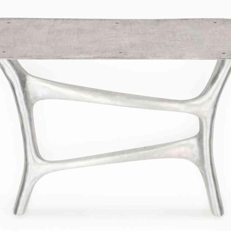 Aluminium Sand Cast Table Leg (set of 2) - K0034029
