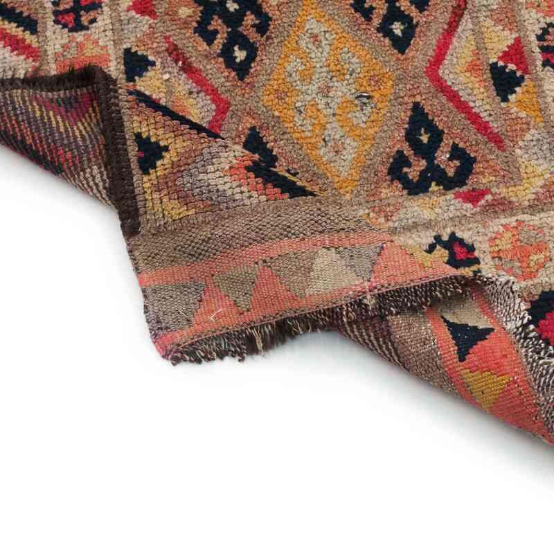 Multicolor Vintage Turkish Runner Rug - 2' 10# x 11' 11# (34 in. x 143 in.) - K0034066