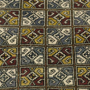 """Vintage Turkish Hand-Knotted Rug - 1' 11"""" x 2' 10"""" (23 in. x 34 in.) - K0034131"""
