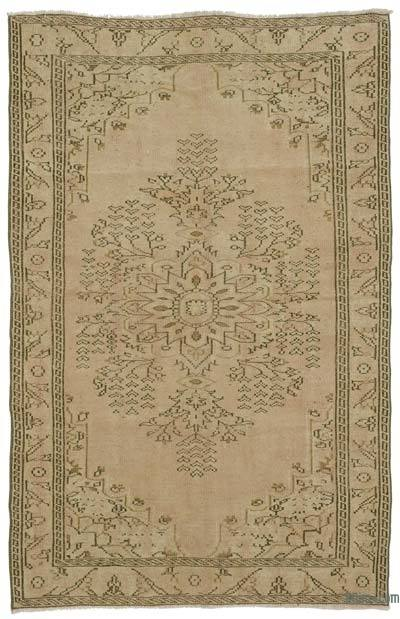 "Turkish Vintage Area Rug - 5' 4"" x 8' 4"" (64 in. x 100 in.)"