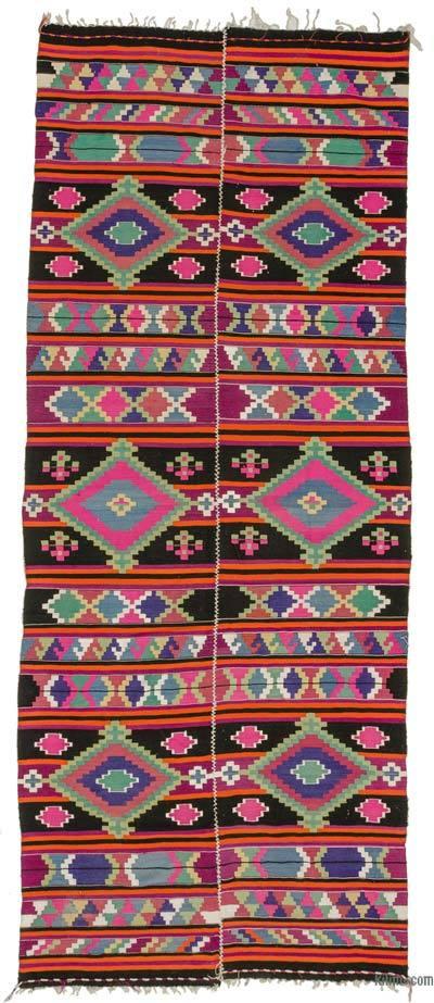 Alfombra Vintage Puturge Kilim