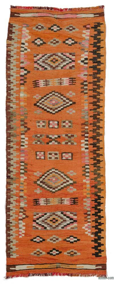"Vintage Turkish Kilim Runner - 2' 7"" x 6' 10"" (31 in. x 82 in.)"
