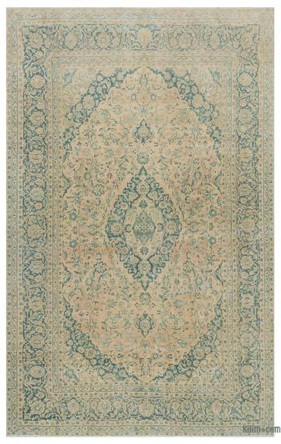 """Vintage Hand-knotted Oriental Rug - 7' 8"""" x 12' 4"""" (92 in. x 148 in.)"""