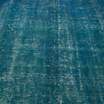 Over-dyed Vintage Hand-knotted Oriental Rug - 9' 6# x 12' 5# (114 in. x 149 in.) - K0034334