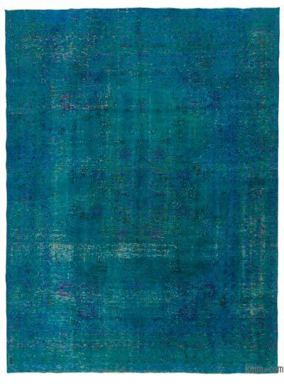 Boyalı El Dokuma Vintage Halı - 286 cm x 382 cm