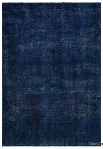 Boyalı El Dokuma Vintage Halı - 205 cm x 308 cm