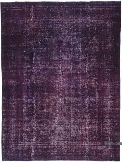 "Over-dyed Vintage Hand-knotted Oriental Rug - 9' 6"" x 12' 8"" (114 in. x 152 in.)"