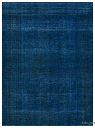 "Over-dyed Vintage Hand-knotted Oriental Rug - 9' 8"" x 13' 3"" (116 in. x 159 in.)"