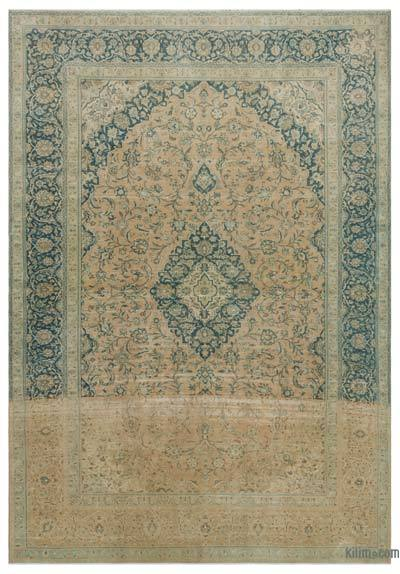 "Vintage Hand-knotted Oriental Rug - 9' x 13'1"" (108 in. x 157 in.)"