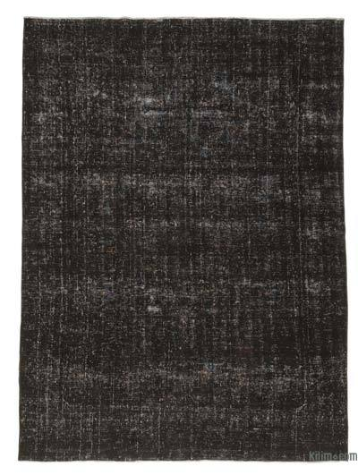 "Overdyed Vintage Hand-knotted Oriental Rug - 7'8"" x 10'6"" (92 in. x 126 in.)"