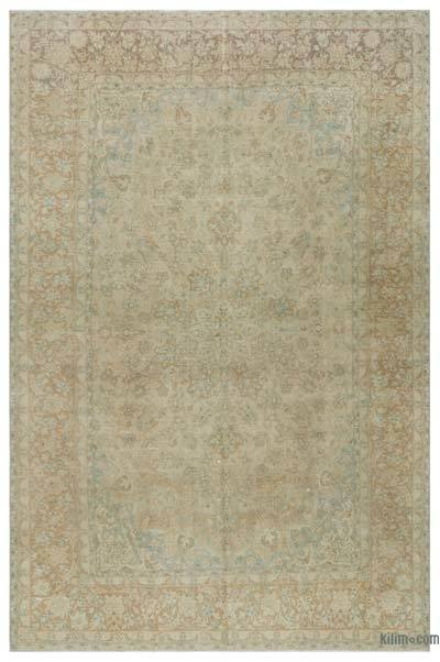"Vintage Hand-knotted Oriental Rug - 9'5"" x 14'3"" (113 in. x 171 in.)"