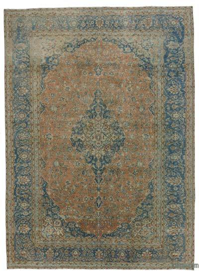 "Vintage Hand-knotted Oriental Rug - 9'8"" x 13'6"" (116 in. x 162 in.)"