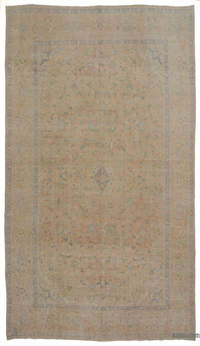 "Vintage Hand-knotted Oriental Rug - 9' 5"" x 16' 4"" (113 in. x 196 in.)"