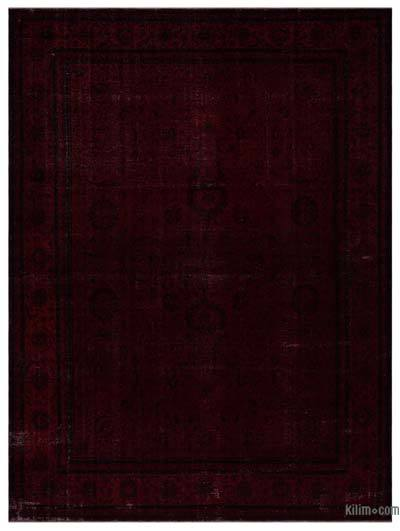 "Over-dyed Vintage Hand-knotted Oriental Rug - 10'7"" x 14'4"" (127 in. x 172 in.)"
