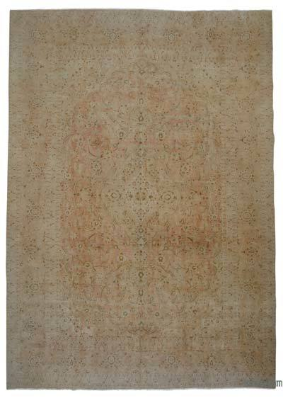 """Vintage Hand-knotted Oriental Rug - 11'1"""" x 15'10"""" (133 in. x 190 in.)"""