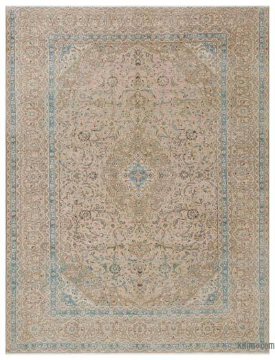 """Vintage Hand-knotted Oriental Rug - 9'6"""" x 12'6"""" (114 in. x 150 in.)"""