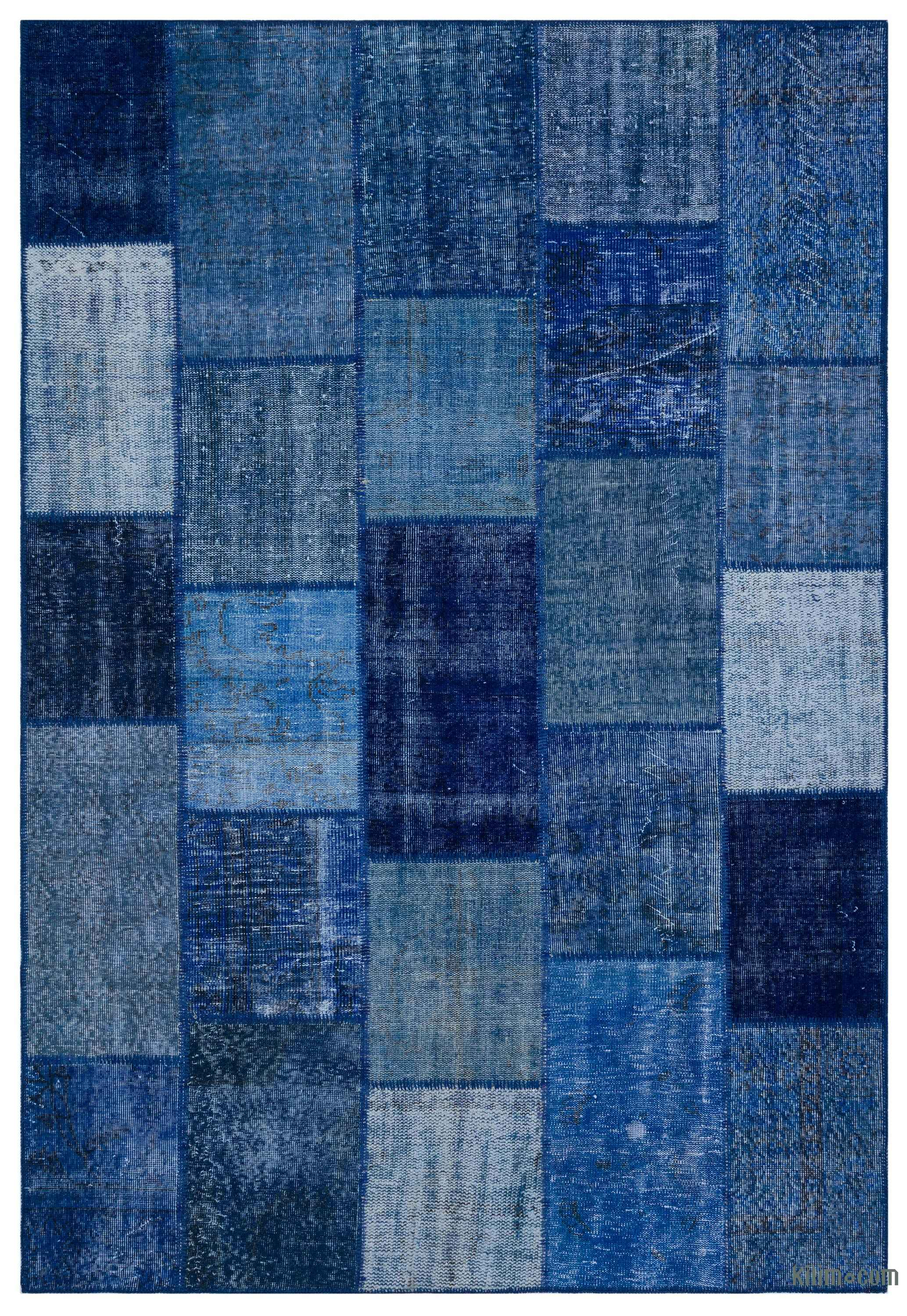 Over Dyed Turkish Patchwork Rug