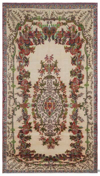 """Turkish Vintage Area Rug - 6' x 10'6"""" (72 in. x 126 in.)"""