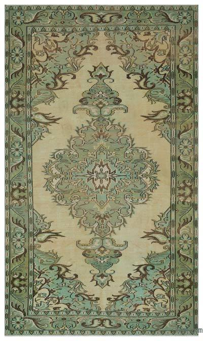 "Turkish Vintage Area Rug - 5' 9"" x 9' 6"" (69 in. x 114 in.)"