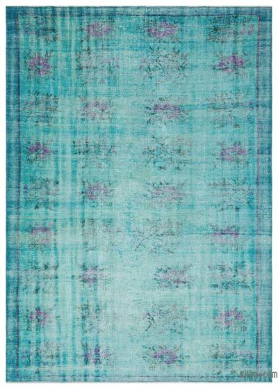 """Over-dyed Turkish Vintage Rug - 6'  x 8' 4"""" (72 in. x 100 in.)"""