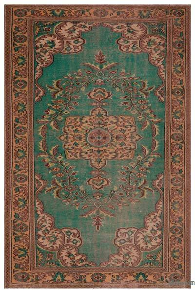 "Turkish Vintage Area Rug - 5' 8"" x 8' 9"" (68 in. x 105 in.)"