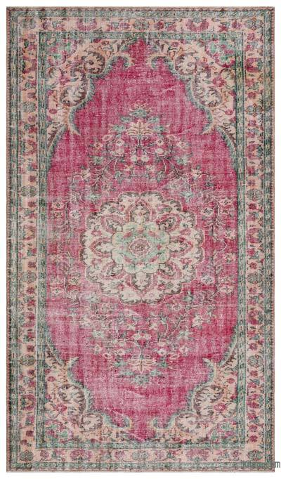 "Turkish Vintage Area Rug - 5'9"" x 9'10"" (69 in. x 118 in.)"