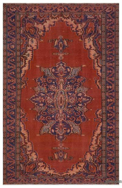 "Turkish Vintage Area Rug - 5' 7"" x 8' 8"" (67 in. x 104 in.)"