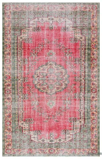 """Turkish Vintage Area Rug - 6' x 9'5"""" (72 in. x 113 in.)"""