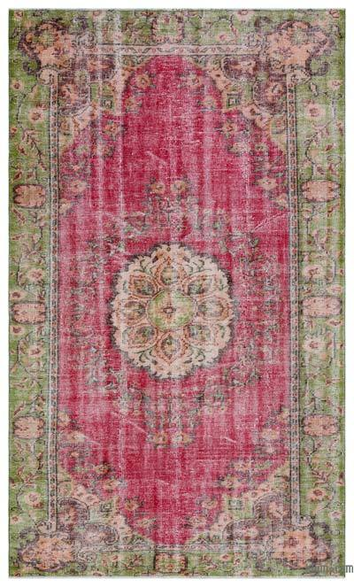 """Turkish Vintage Area Rug - 5'9"""" x 9'6"""" (69 in. x 114 in.)"""