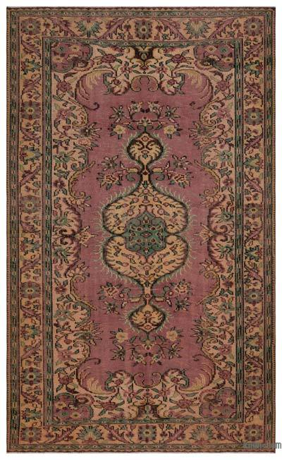 """Turkish Vintage Area Rug - 5' 11"""" x 9' 11"""" (71 in. x 119 in.)"""