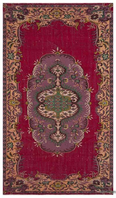 """Vintage Turkish Hand-Knotted Rug - 5' 7"""" x 9' 10"""" (67 in. x 118 in.)"""