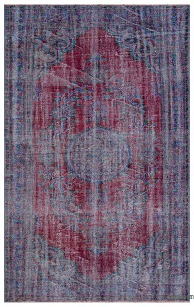 """Turkish Vintage Area Rug - 5'11"""" x 9'5"""" (71 in. x 113 in.)"""