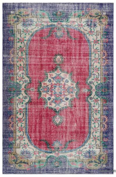 "Turkish Vintage Area Rug - 5'9"" x 9'1"" (69 in. x 109 in.)"