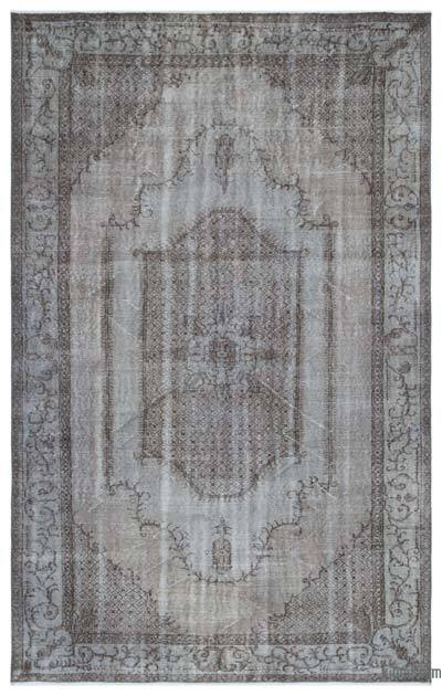 "Over-dyed Turkish Vintage Rug - 6' x 9'3"" (72 in. x 111 in.)"