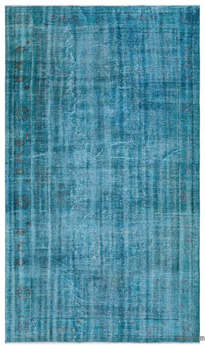 "Over-dyed Turkish Vintage Rug - 5' 8"" x 9' 10"" (68 in. x 118 in.)"