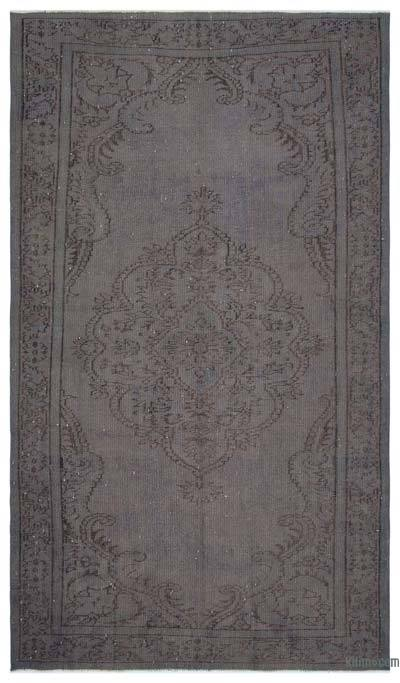"""Over-dyed Turkish Vintage Rug - 5'7"""" x 9'8"""" (67 in. x 116 in.)"""
