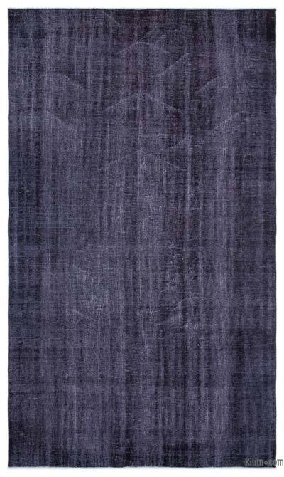 "Over-dyed Turkish Vintage Rug - 4'11"" x 8'8"" (59 in. x 104 in.)"