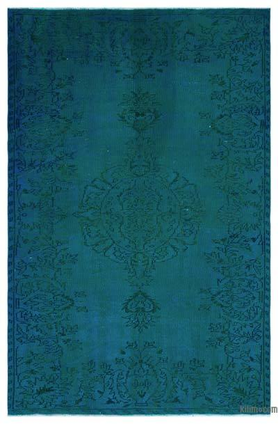 "Over-dyed Turkish Vintage Rug - 5'3"" x 7'10"" (63 in. x 94 in.)"