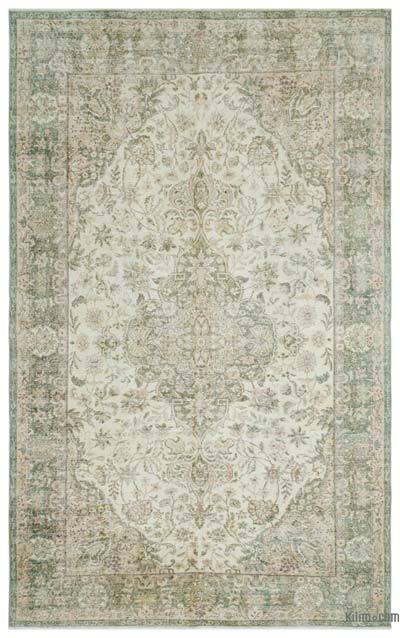 "Turkish Vintage Area Rug - 6' 7"" x 10' 6"" (79 in. x 126 in.)"