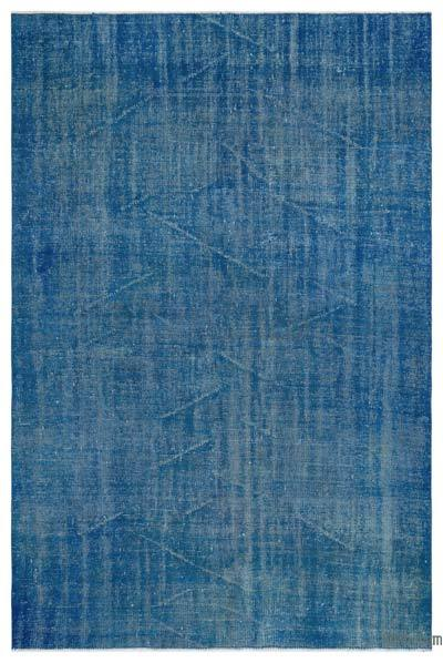 """Over-dyed Turkish Vintage Rug - 5'7"""" x 8'4"""" (67 in. x 100 in.)"""