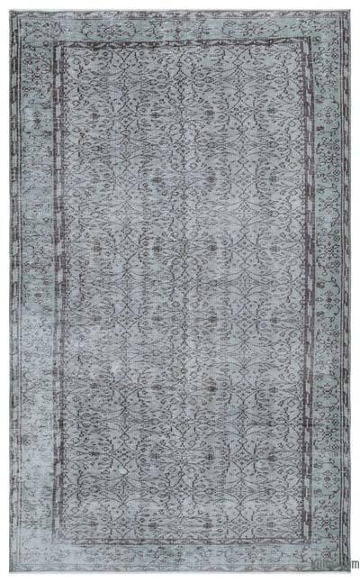 Alfombra Turca Vintage Sobre-teñida - 168 cm x 275 cm