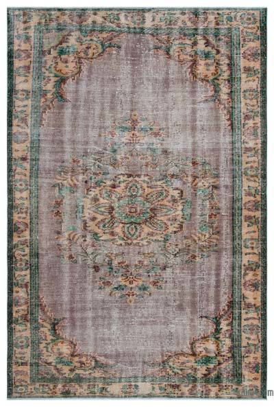 """Turkish Vintage Area Rug - 5'8"""" x 8'2"""" (68 in. x 98 in.)"""
