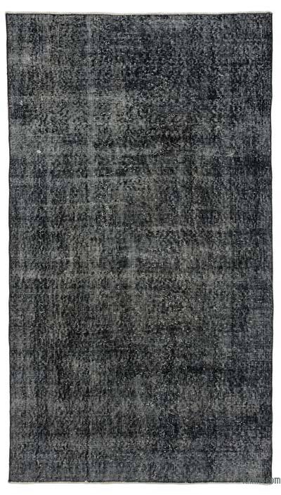 "Over-dyed Turkish Vintage Rug - 3'10"" x 6'9"" (46 in. x 81 in.)"