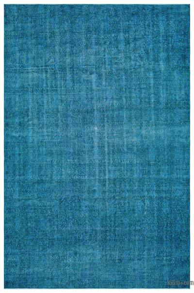 "Over-dyed Turkish Vintage Rug - 7' 1"" x 10' 11"" (85 in. x 131 in.)"
