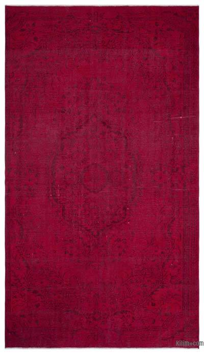"""Over-dyed Turkish Vintage Rug - 6' x 10'5"""" (72 in. x 125 in.)"""