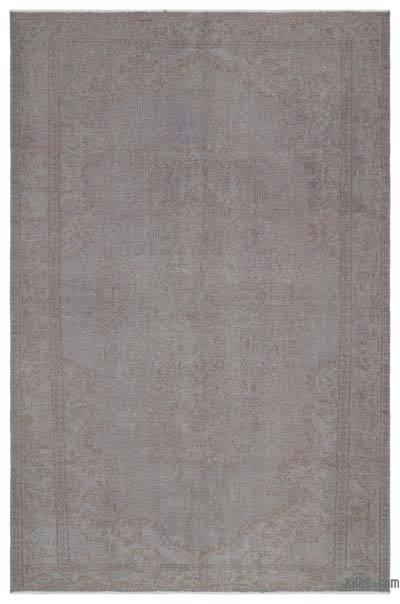 Boyalı El Dokuma Vintage Halı - 171 cm x 266 cm